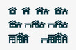 House Icon Set - 54451748