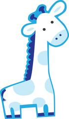 baby blue giraffe