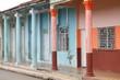 Cuba architecture in Moron