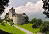 Vaduz castle - is the residence of the Prince of Liechtenstein