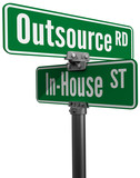 Outsource vs inhouse supply business choice