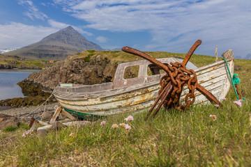 Old Pier, East-Fjords, Iceland