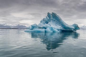 Swimming Iceberg, Jökulsárlón, Iceland