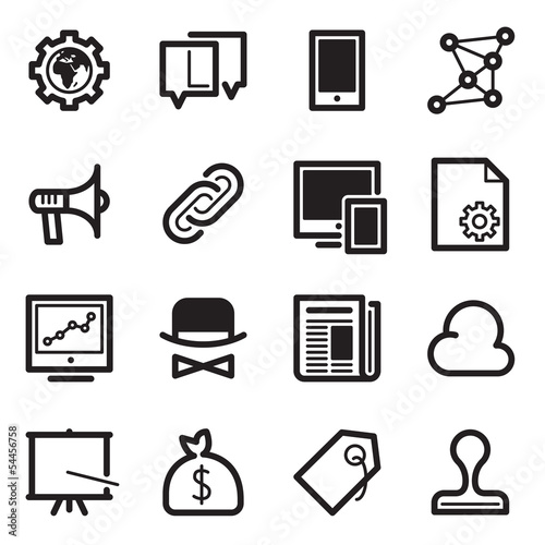 SEO Icons Set 2 - Simpla Series