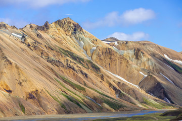 Crest at Landmannalaugar, Highlands, Iceland