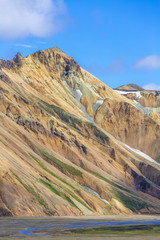 Brandsgil at Landmannalaugar, Highlands, Iceland