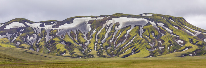 Panorama at Landmannalaugar, Highlands, Iceland