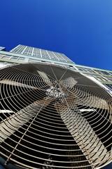 Urban HVAC Air Contidioner Outdoor Unit Manhattan New-York