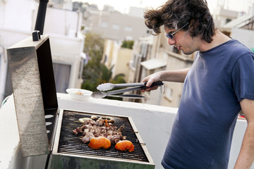 Rooftop Grillin'