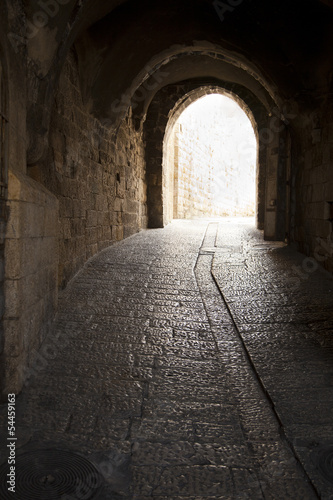 Old Jerusalem Tunnel - 54459163
