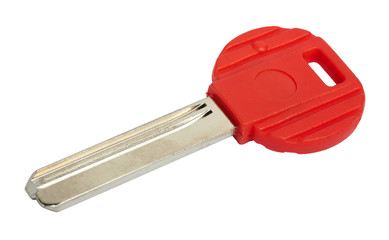 Isolated Red Key