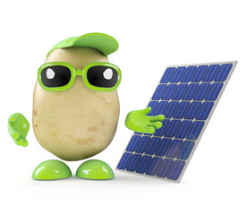 Potato uses green energy