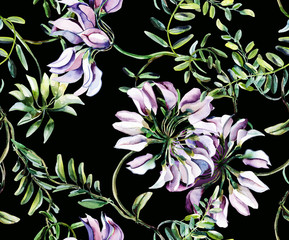 Vetch Seamless Pattern