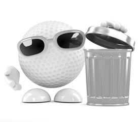 Golfball is neat and tidy