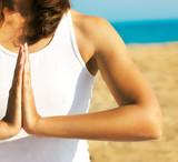 Yoga Hands Close Up