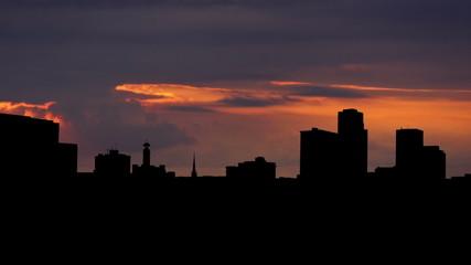 Arkansas Little Rock dusk