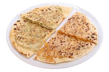 Peynirli-Dereotlu ve Patatesli Gözleme