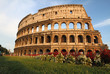 canvas print picture - The Colosseum in Rome, Italy