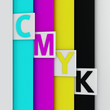 Bookmarks on the CMYK pages