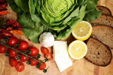 vegetarische Lebensmittel