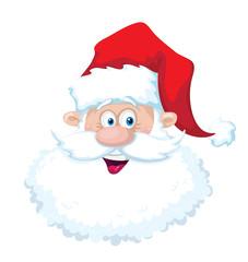 smile santa head