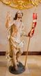 Vienna - Baroque statue of Resurrected Christ in Jesuits church