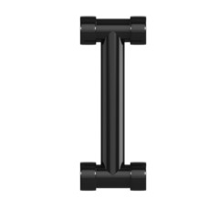 Black Plastic Alphabet I