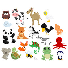 Animal Vector Set 2
