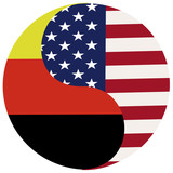USA and  Germany, symbol of close realationship