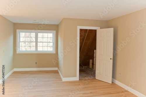 Brand New House Room Interior