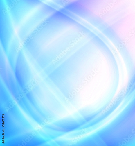 shiny lights, abstract blue background