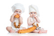 Little bakers babies boy and girl