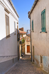 Alleyway. Alberona. Puglia. Italy.