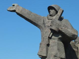 Detail of Victory Memorial to Soviet Army (Riga, Latvia)