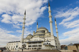 Ankara, Turkey - Kocatepe Mosque in a cloudy day