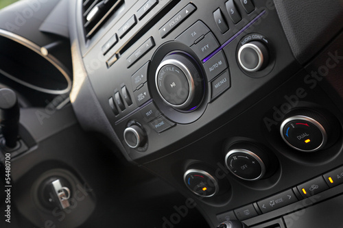 Modern car audio control