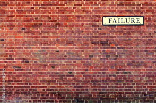 failure street sign