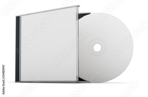Leinwandbild Motiv CD DVD disk