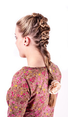 Modern weddting hairstyle