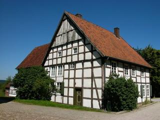 Bauernhaus in Fachwerkbauweise in Ostwestfalen-Lippe