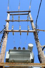 Электролиния и трансформатор