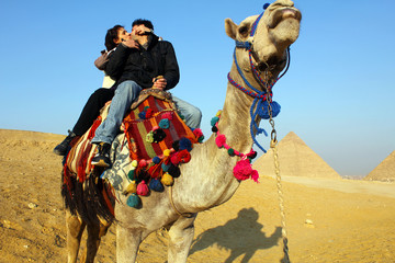 Kiss in Egypt