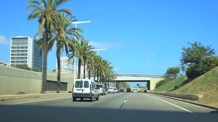 Трасса в Барселона