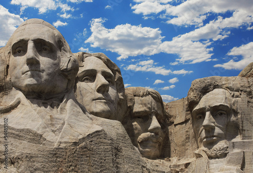 Mount Rushmore National Monument. South Dakota, USA.
