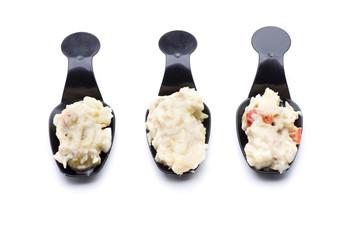 white  salad