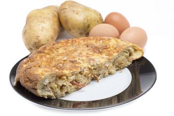spanish omelette food