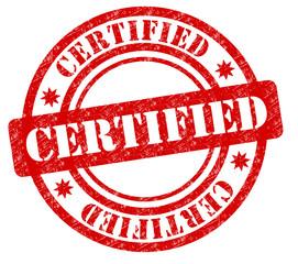 Certified Stempel rot  #130723-svg01