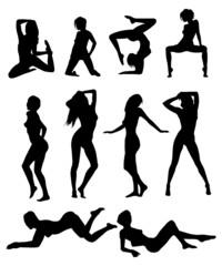 Sexy girls posing
