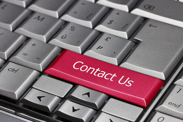Contact Us on a keybord
