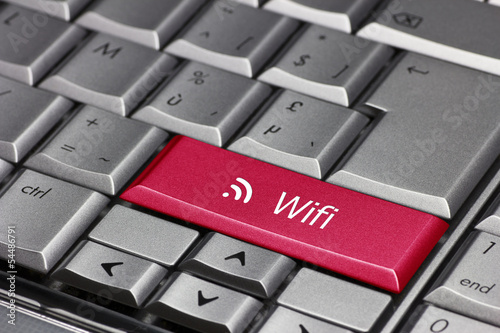 wifi on the laptop key